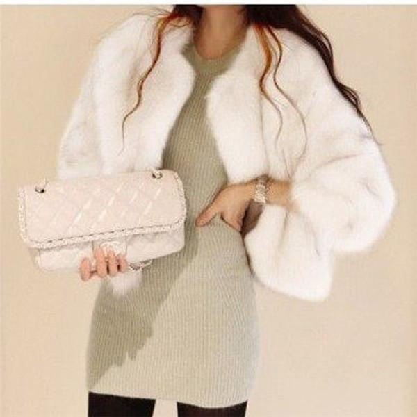 Fox Fur Short Coat