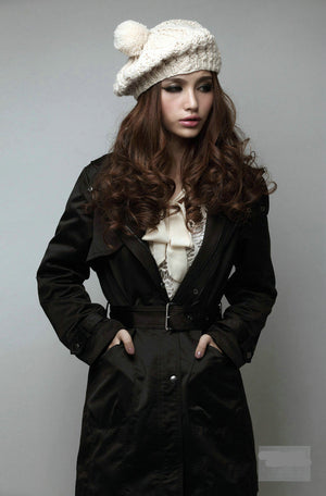 Long Sleeve Women Casual Parkas