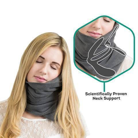 Travel Pillow and Neck Support