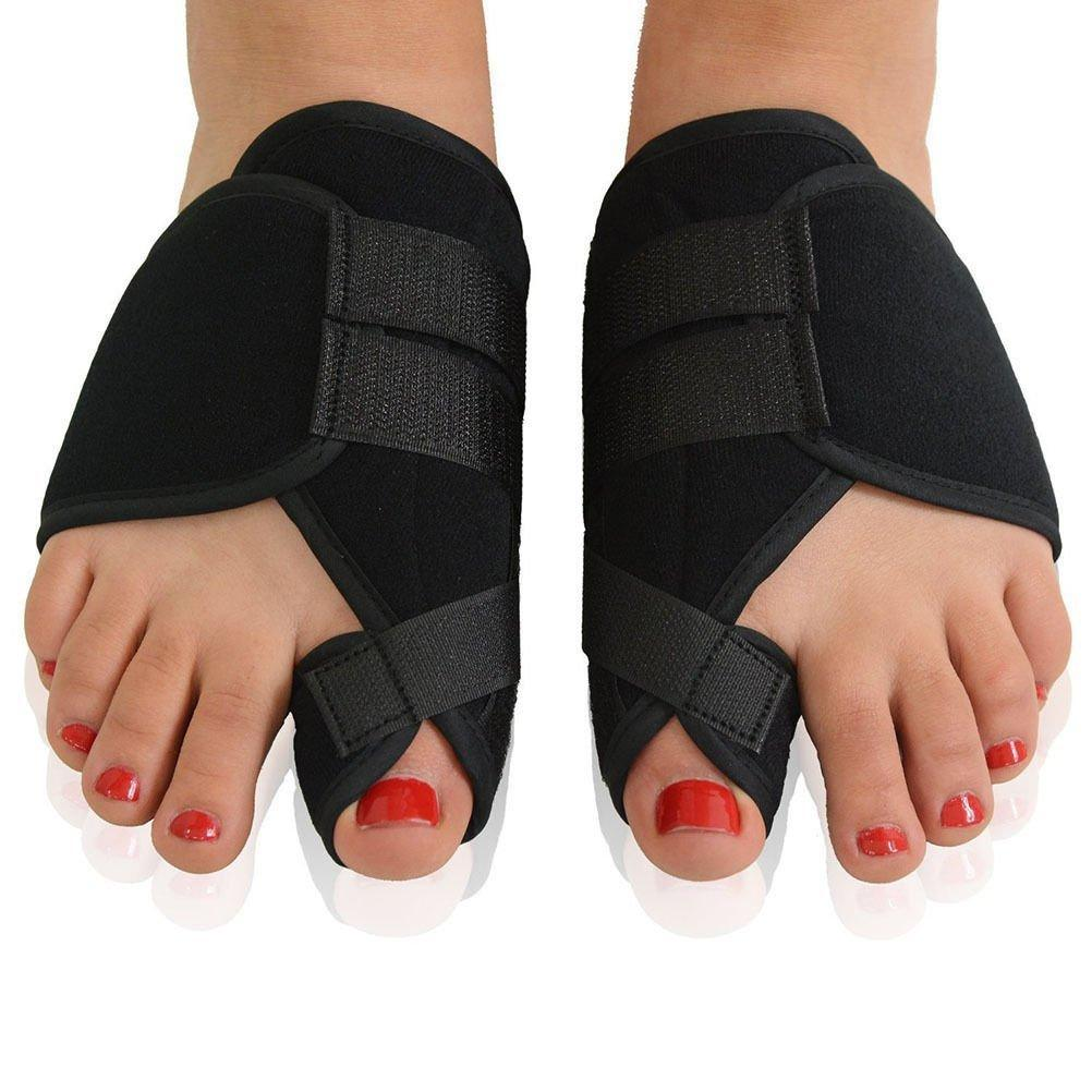 Bunion Corrector Splint Brace Post Surgery Big Toe Straightener & Separator