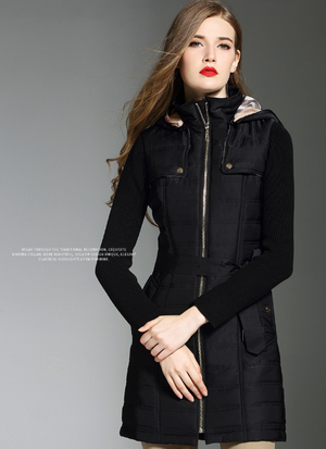 Winter Women Hooded Coat