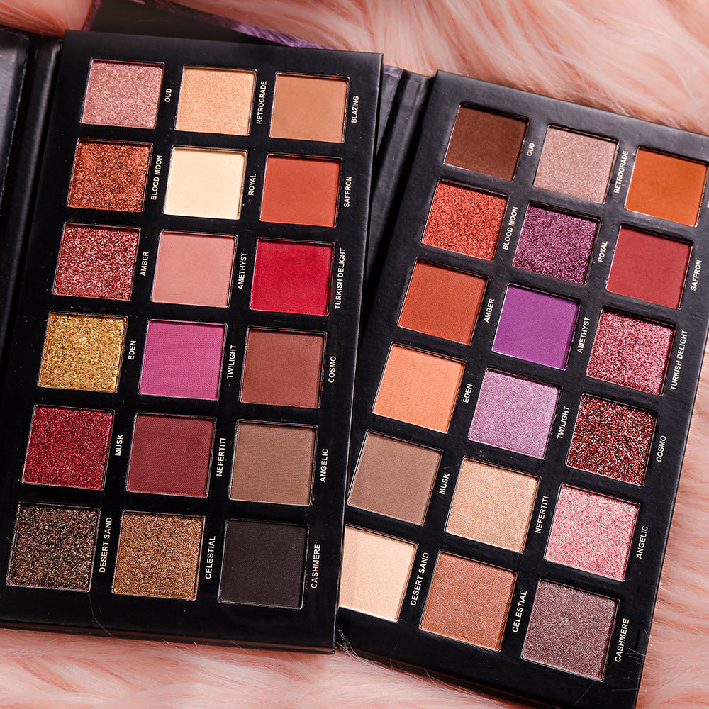 18 Colors Eyeshadow Palette
