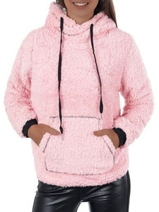 4 Colors Drawstring Casual Hoodies