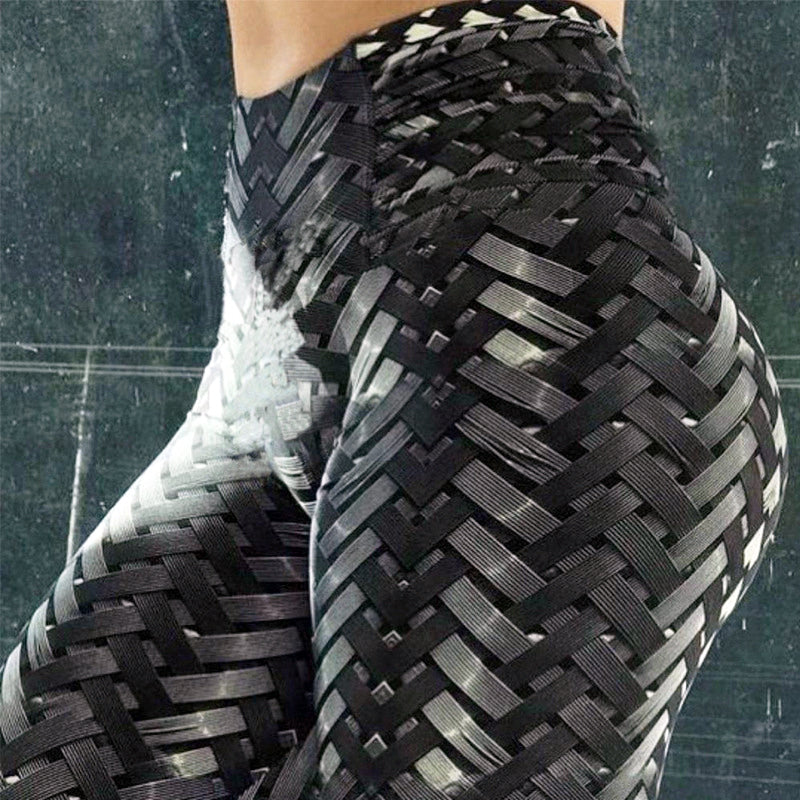High Waist Women Ironweave Leggings