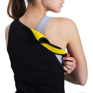 Body Shaper Slimming Compression Neoprene Sweat  Vest