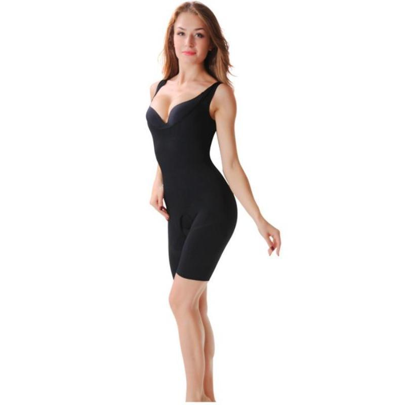 Bamboo Charcoal Slimming Bodysuit - Sculpting Underwear