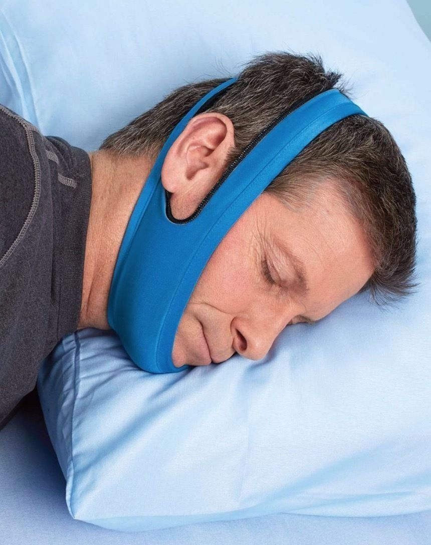 Anti Snore & Sleep Apnea Jaw/Chin Wrap Sleeping Aid Snore Stopper