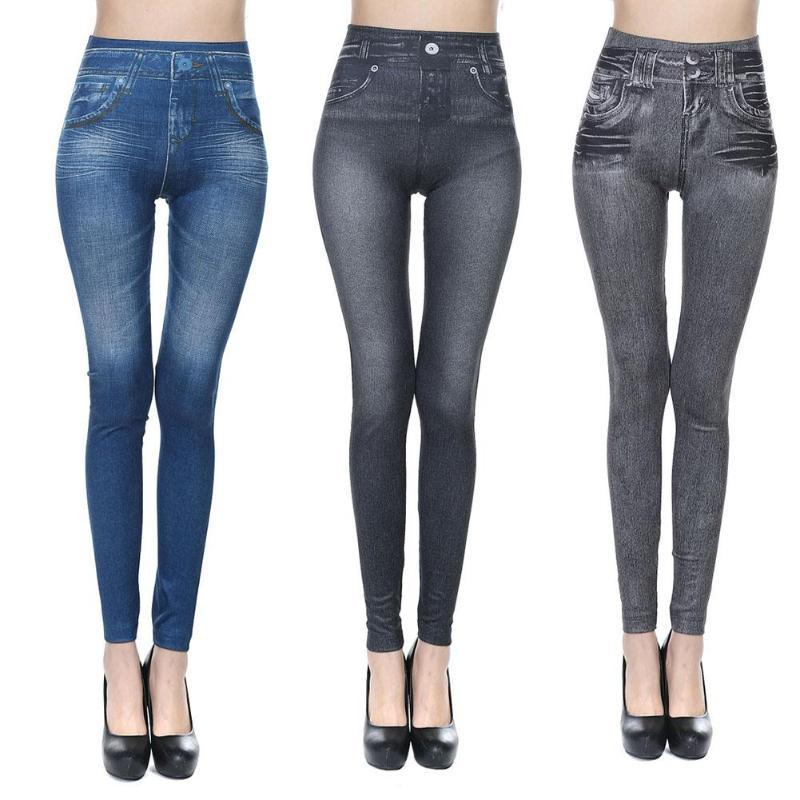 Stretchy Slim Jeans - 3 Pack Leggings