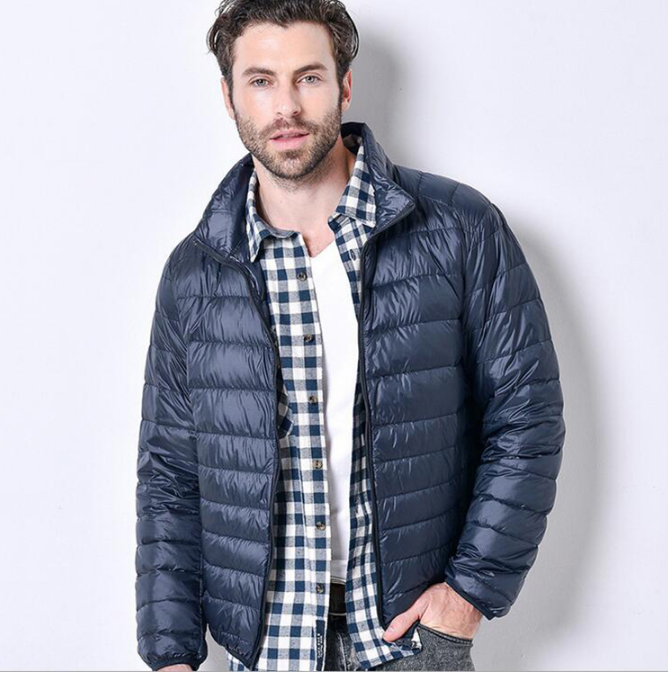 Men Ultra-light Down Jacket