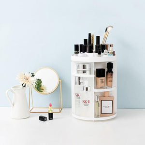 Rotating Adjustable Makeup Organizer