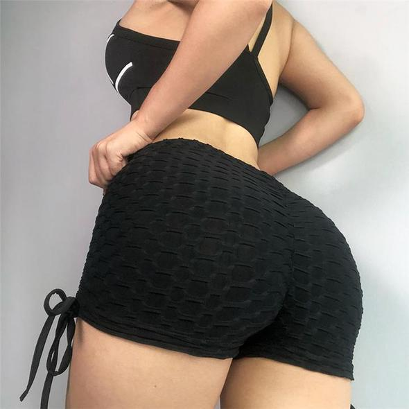 2TX Butt Scrunch Shorts with Side Ties