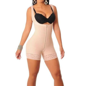 Plus Size Women Butt Lift Shapers Sculpting Body Shaper Fat Control Shapewear