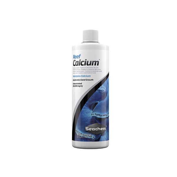 Reef Calcium Seachem 500 ml (17 oz fl) - TheReefWare