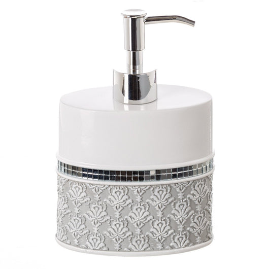 Mirror Damask Lotion Dispenser