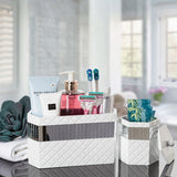 Quilted Mirror Bath Organizer