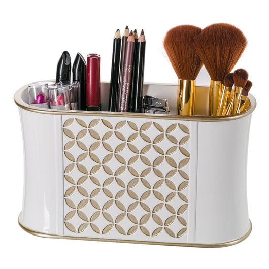 Diamond Lattice Bathroom Organizer