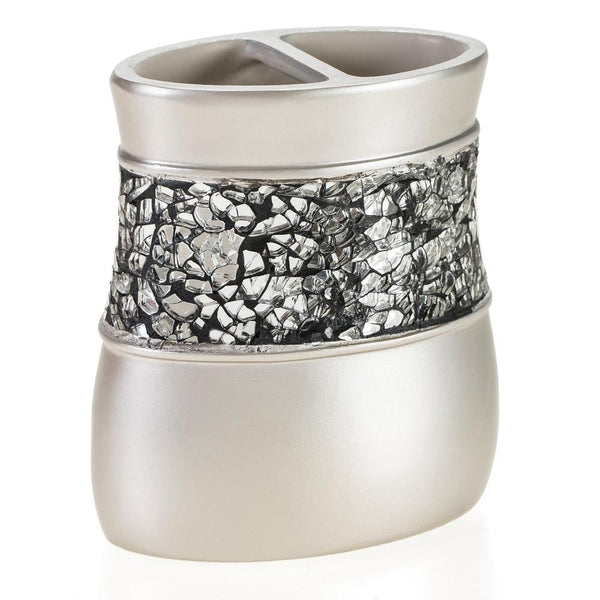 Brushed Nickel Toothbrush Holder