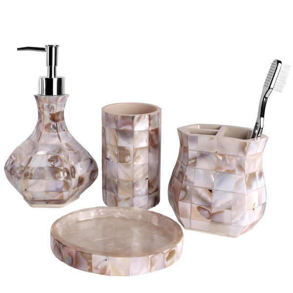 Milano Bath Ensemble 4 Piece Gift Set