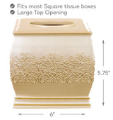Shannon Square Tissue Box