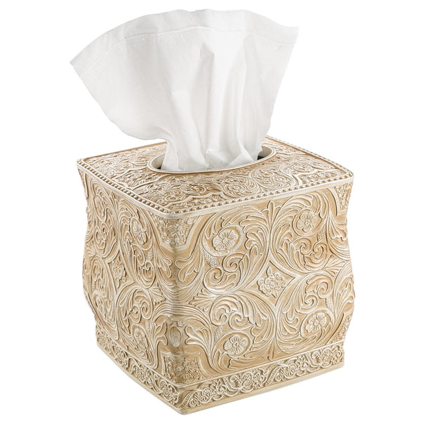 Victoria Collection Square Tissue Holder