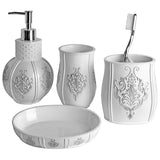 Vintage White 4 Piece Gift Set