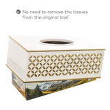 Diamond Lattice Tissue Box (rectangle)