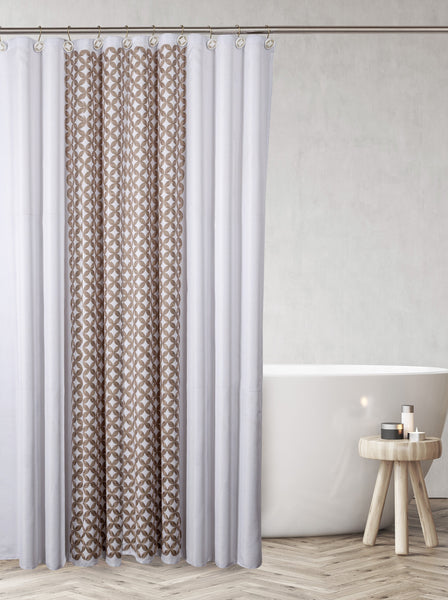 Diamond Lattice Shower Curtain / Liner