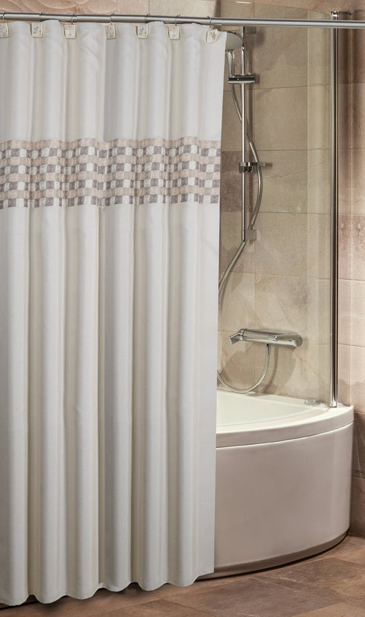 Milano Shower Curtain / Liner