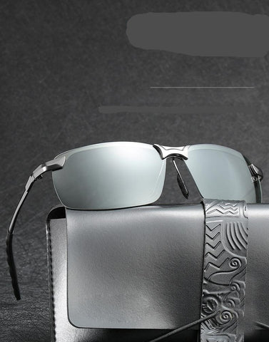 Men Photochromic Polarised Driving Glasses