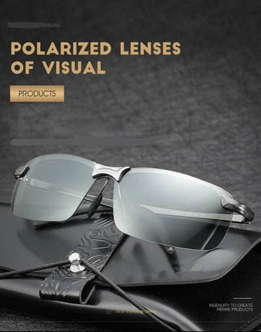 Chameleon Polarised Driving Glasses