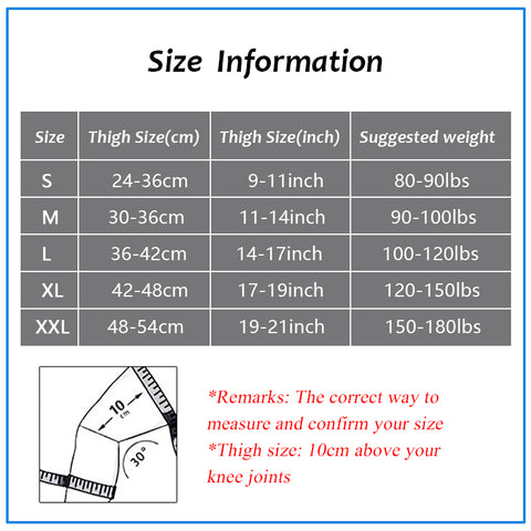 Image of Knees Protection Fitness Pads For Large Weight Person