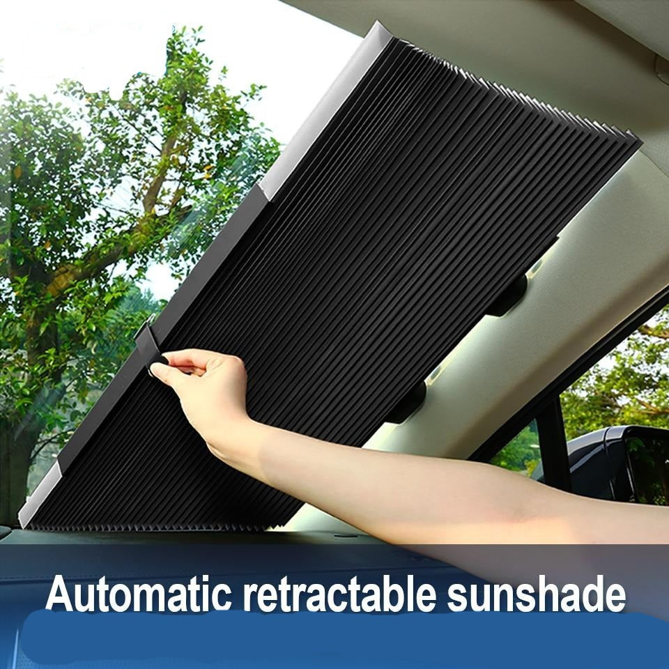 Fold-able Car Window Sun shade