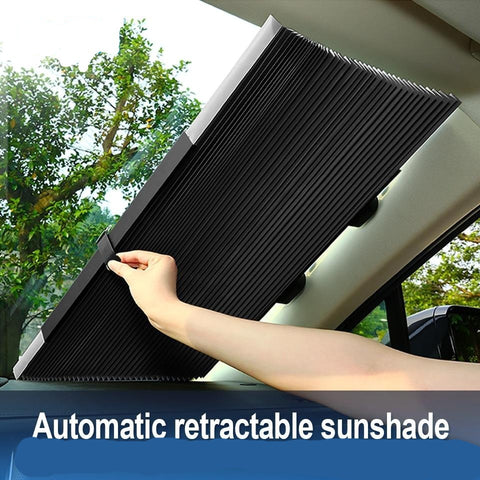 Image of Fold-able Car Window Sun shade