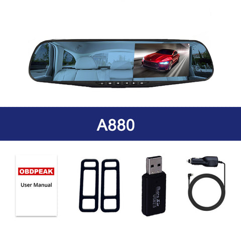 Image of Latest Full HD Car DVR Views Recorder Mirror