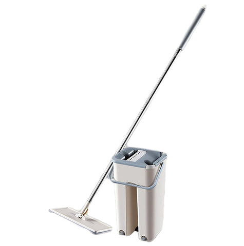 Image of Automatic Floor Mop And Bucket Set