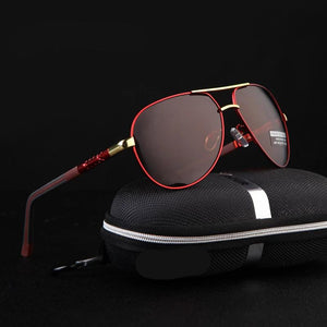 Men Polarised Coating Mirror Glasses