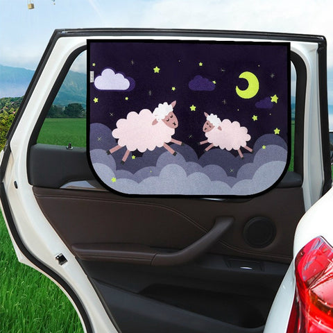 Universal Car Side Window Sunshade Cover