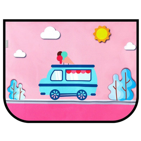 Image of Universal Car Side Window Sunshade Cover