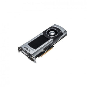 6GB nVIDIA GeForce GTX Titan GDDR5 DVI-I DVI-D HDMI DisplayPort PCI Express x16 900-12083-0031-000 Graphics Card