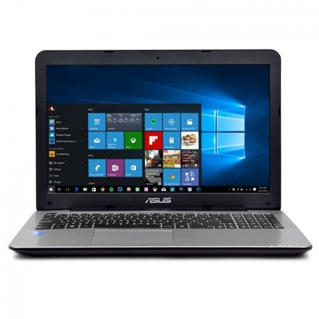ASUS X555DA-WB11 Fusion Quad-Core A10-8700P 1.8GHz 4GB 500GB DVD±RW 15.6 LED Notebook W10H w/Webcam & Bluetooth - B