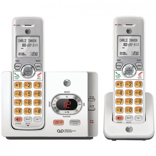 At&t Dect 6.0 Cordless Answering System With Caller Id And Call Waiting (2 Handsets) ATTEL52215