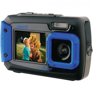 Coleman 20.0-megapixel Duo2 Dual-screen Waterproof Digital Camera (blue) ELB2V9WPBL