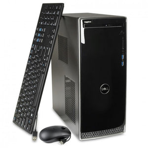 Dell Inspiron 3670 Core i5-8400 Six-Core 2.8GHz 12GB 1TB DVD�RWDesktop PC W10H w/Bluetooth, HDMI & WiFi