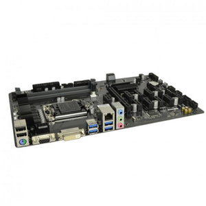 GIGABYTE GA-B250-FinTech B250 Express Socket 1151 ATX MiningMotherboard w/DVI, Video, Audio & GbLAN