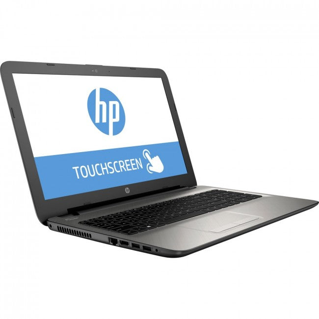 HP 15-af100 15-af152nr 15.6 Touchscreen LCD Notebook - AMD A-Series A8-7410 Quad-core (4 Core) 2.20 GHz - 8 GB DDR3L SDRAM - 1 TB HDD - Windows 10 Home 64-bit - 1366 x 768 - Turbo Silver - DVD-Writer - AMD Radeon R5 with 4.25 GB DDR3L SDRAM - Bluetooth -