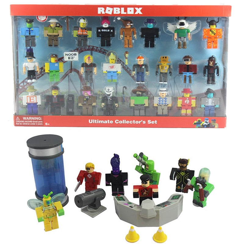 16 Sets Roblox Figure jugetes 7cm PVC Game Figuras Robloxs Boys Toys for roblox-game
