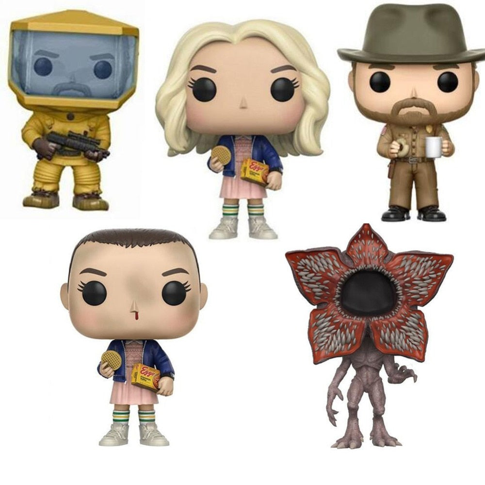 Funko Pop Stranger Things Character 10cm Action Figure Toys Vinyl Dolls for Collection