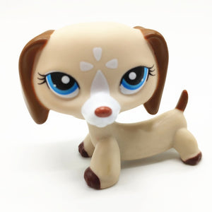 Rare Lps Pet Shop Toy Free Shipping Shorthair Cat Brown Great Dane Stand Action figure Collection 41 Style Children's Set Gift