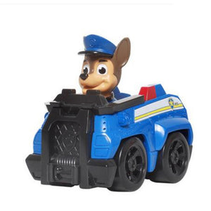 8Style Paw Patrol Dog Patrulha Canina Anime Figure Car Plastic Action Figure Birthday Gifts Decoration Boy Toys for Children2D32
