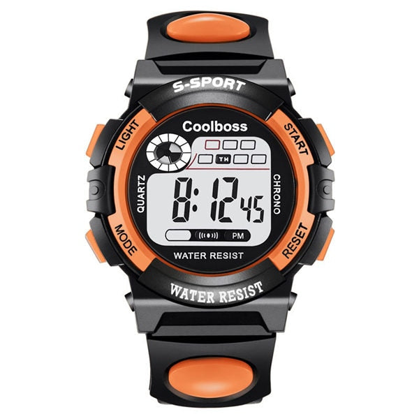 Sport Student Children Watch Kids Watches Boys Girls Clock Child LED Digital Wristwatch Electronic Wrist Watch for Boy Girl Gift
